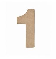 Numero 0 da 17,5 x 11,5 cm in carta pesta