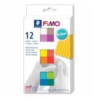 12 panetti fimo soft natural