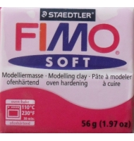 fimo soft n°22 (lampone)
