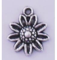 Ciondolo fragola argento antico