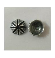 Coppette argento antico da 12 mm