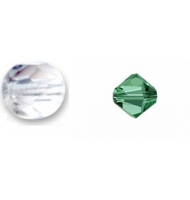 """mezzo cristallo """"Emerald AB"""""""