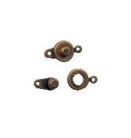 chiusura a pressione da 9 mm bronzo