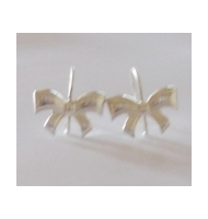 coppia di ganci per orecchini chiusi minimal argento 925