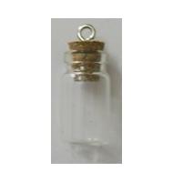 Perla macchiata nero/argento 11 mm