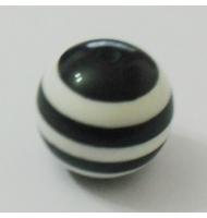 Teschio nero 18 mm