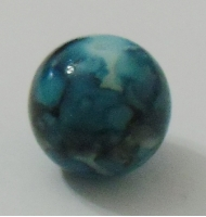 Perla marmorizzata fucsia 22 x 10 mm