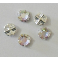 strass da cucire 6 mm crystal ab