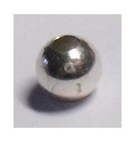 5 perlee argento 925 8 mm