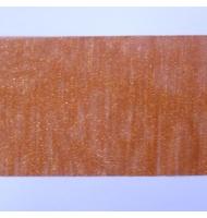 nastro in organza laminata ruggine 11 cm x 1 metro