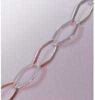 catena cuoricini argento 925 4,5 x 5,5 mm x 50 cm