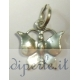 Ciondolo farfalla argento 925