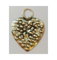 Ciondolo cuore con cerchi argento 925