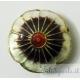 cloisonné fiore biianco 20 mm