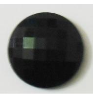 Perla a righe bianca e nera 18 mm