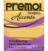 premo accents n°5051 (red glitter)