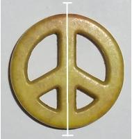 Perla sintetica verde 25 mm