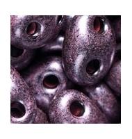 Twin beads 20 grammi viola scuro perlato