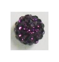 sfera schiacciata 14 mm crystal