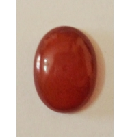 Cabochon ovale corniola da 18 x 13 mm