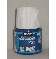 Colore per tessuto Pebeo Setacolor numero 11 (blu cobalto)