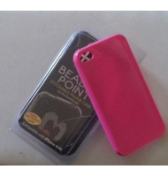 Cover custodia per iphone 4/4S da ricamare bianca