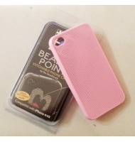 Cover custodia per iphone 4/4S da ricamare fucsia