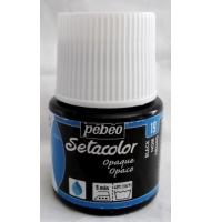 Colore per tessuto Pebeo Setacolor Opaque numero 11 (blu cobalto opaco)