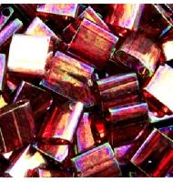 Miyuki tila beads TL0250 crystal AB