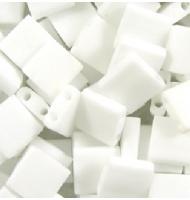 Miyuki tila beads TL0402 white