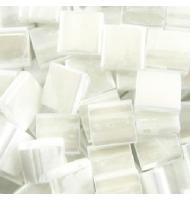 Miyuki tila beads TL0402FR mat white AB