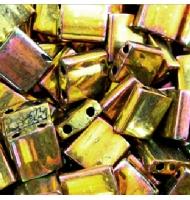 Miyuki tila beads TL0457 met dark bronze