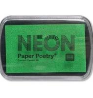 tampone di inchiostro neon paper poetry rosa fluo