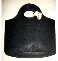 Borsa in feltro crema 21 x 29 cm