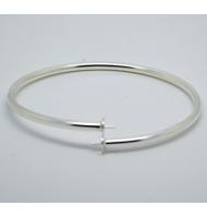 10 coprinodo 4 mm con anellino argento 925