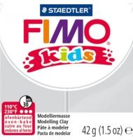 fimo kids n°52 (bianco paillette)