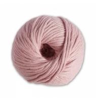 Gomitolo 100% cotone DMC natura XL n°61 (rosa polvere)