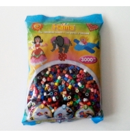Hama beads midi 1000 perline colori primari