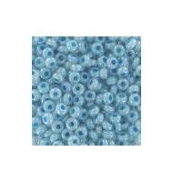 """Conteria da 2,5 mm """"aquamarine silver lined"""""""