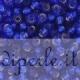"""Conteria da 2,5 mm """"sapphire silver lined"""""""
