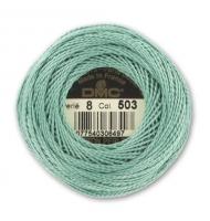 mouliné perlé dmc misura 8 colore numero 642 sabbia