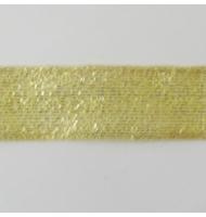 nastro laminato oro trama larga 25 mm x 1 metro