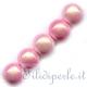 """Perline """"miracoli"""" 4 mm rosa chiaro"""