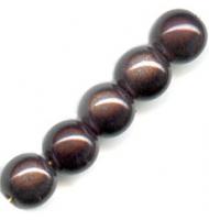 "Perlina ""miracoli"" 10 mm marrone"