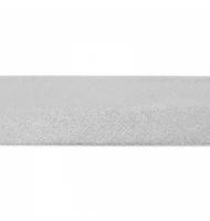 sbieco in cotone 20 mm viola con pois