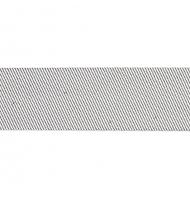 sbieco con lurex 20 mm argento