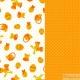 2 foglia carta decorativa arancione speciale Pasqua