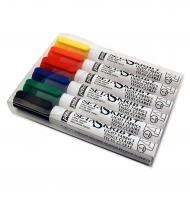 6 tubetti colore per tessuto a rilievo 3d colori fluo