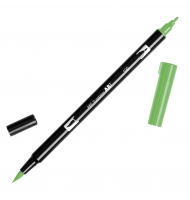 Pennarello tombow dual brush doppia punta 12 light olive