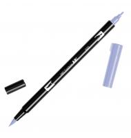 Pennarello tombow dual brush doppia punta 620 lilac